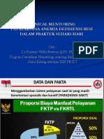 Clinical Mentoring 8 Tatalaksana Anemia Defisiensi Besi Dalam Praktek Sehari Hari Oleh Dr. Prasetyo Widhi Buwono Sp.pd Finasim