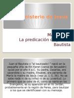 El Ministerio de Jesús Mateo 3