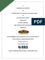 Analyticalstudyofforeigndirectinvestmentinindia 150415013800 Conversion Gate01