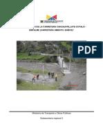 """""""Construccion de La Carretera Cahuají-pillate-cotaló-empalme"""