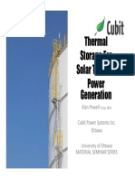 (i) Solar Thermal Energy Storage System Best
