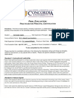 practicum final evaluation  carter