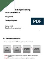 Advanced Engineering Mathematics - Laplace Transform
