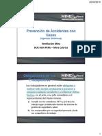 Capacitación Prevención de Accidentes Con Gases-Agentes Químicos