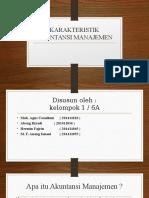 Ppt Karakteristik Akuntansi Manajemen