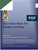 Operasyon Retire Fonds Verrettes Anba Tè