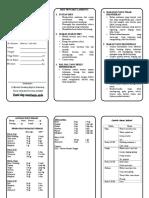 Leaflet - Diet Penyakit Lambung