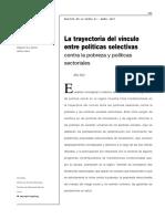 Sojo - Politicas Selectivas Contra La Pobreza y Politicas Sectoriales