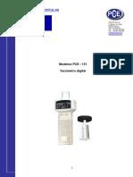 Manual Tacometro Digital 1501