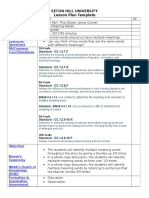 unit plan lesson plan