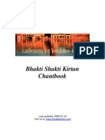 Kirtan Chant Book