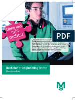 Ms Bachelor of Engineering Maschinenbau