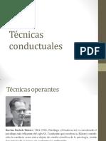 Técnicas conductuales
