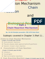 Chapter 4 Part 1 Reaction Mechanism in Chain Reactions