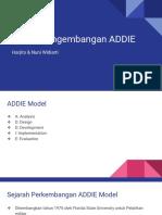 Model Pengembangan ADDIE