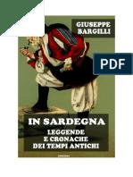 Download Il Libro in Sardegna Leggende e Cronache Dei Tempi Antichi Di Giuseppe Bargilli