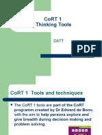 CoRT 1 Tools