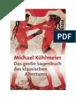 Download Il Libro Das Grosse Sagenbuch Des Klassischen Altertums Di Michael Kohlmeier