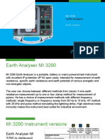 MI 3290 Earth Analyser
