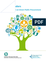 13. Green Tenders - An Action Plan on Green Public Procurement