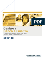 Carriere in Banca e Finanza