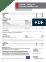 Dupont Energain - Data Sheet