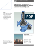 Whessoe - 4020A Press. and Vac. Relief Valves_Pipeaway - Техническое Описание [Eng]