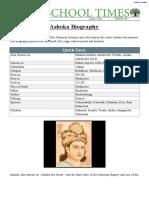 #Ashoka Biography