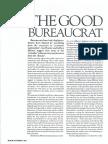 The Good Bureaucrat