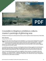 Constable in Brighton exhibition collec...g seas | Art and design | The Guardian