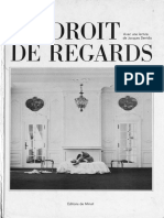 Plissart Marie-Francoise Derrida Jacques Droit de Regards 1985