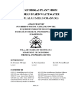 SMC Biogas Phase 1 Report