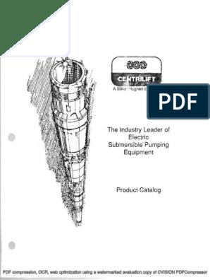Centrilift ESP Equipment Catalog pdf | Power Inverter | Pump