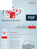 Oracle Database Backup Cloud Service