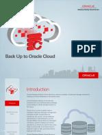 Oracle Database Backup Cloud Service