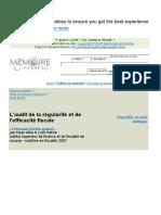 Audit Reg Fisc Sousse