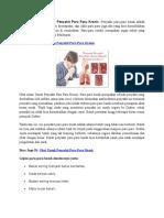 Obat Tradisional Untuk Penyakit Paru Paru Kronis