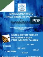 7 ISO & HACCP