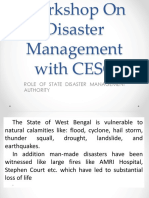 Presentation SDMA on Disaster Management
