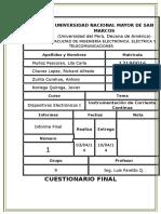 Laboratorio 1 - Informe Final