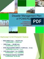 Presentation-POWERGRID Disaster Management Plan