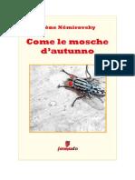 Download Il Libro Come Le Mosche d Autunno Di Irene Nemirovsky Angelica Romeo Traduttore
