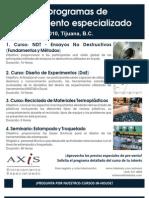 Programas de Entrenamiento - AXIS