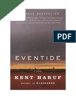 Download Il Libro Eventide Di Kent Haruf