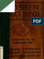 (1915) Catalogue & Net Price list