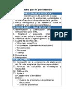 Plan de Accion-esquema Para Presentaciòn