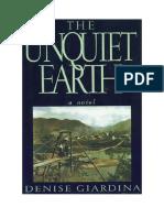 Download Il Libro the Unquiet Earth a Novel Di Denise Giardina