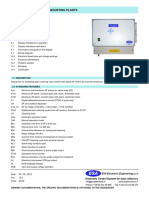 Sequencer for Dedusting Plants - Dc32
