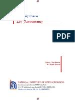 Nios Accountancy Full Book