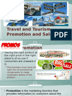 Travel and Tourism Promotion and Sales